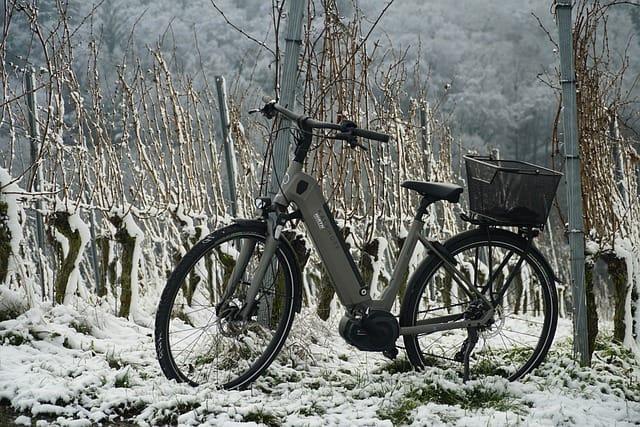 So können Sie Ihr E-Bike winterfest machen